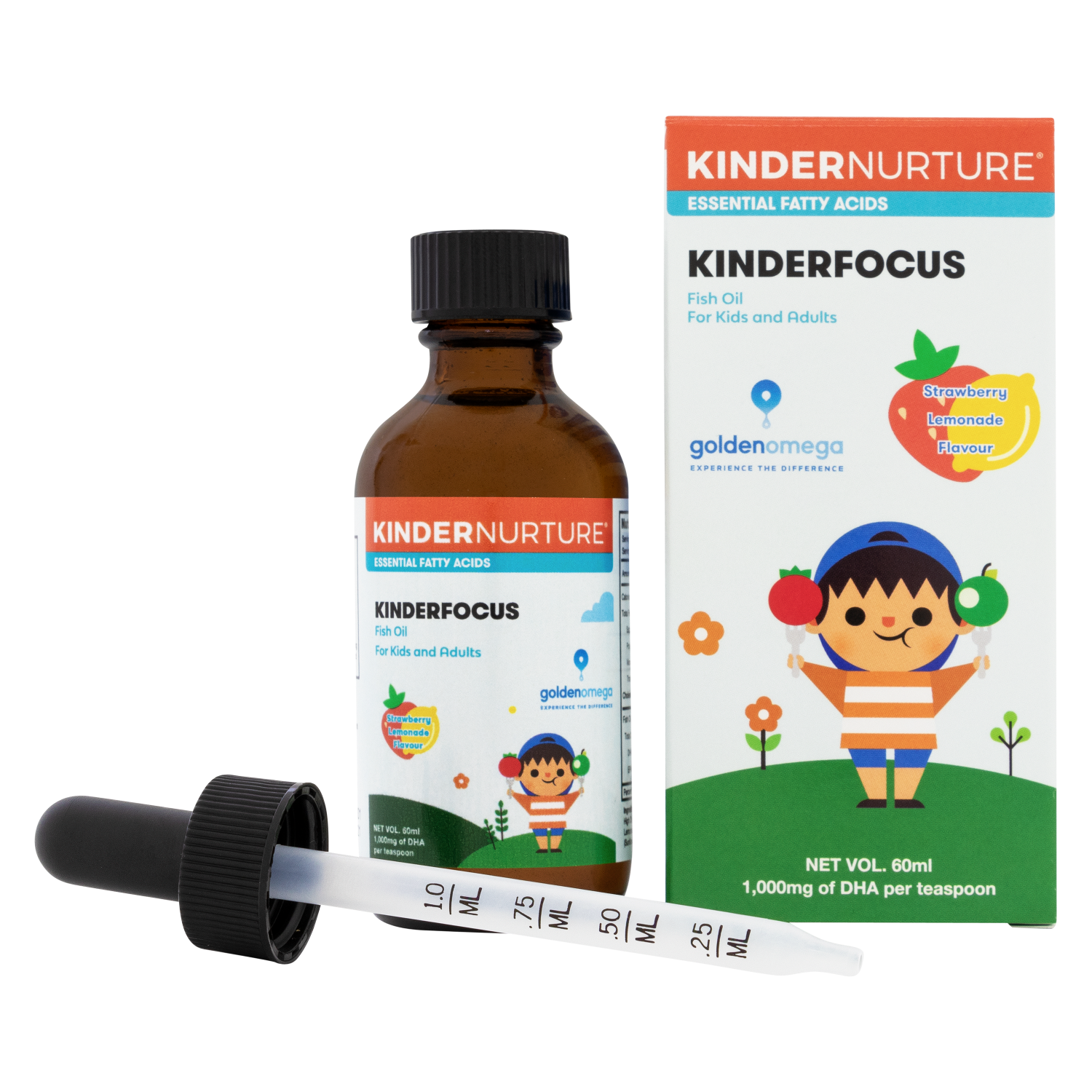 KinderFocus Fish Oil